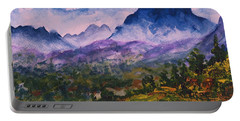 Mountains Of Pyrenees  Portable Battery Charger
