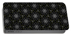 Portable Battery Charger featuring the digital art Mourning Weave by Elizabeth McTaggart