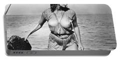 Movie Star Sophia Loren Portable Battery Charger