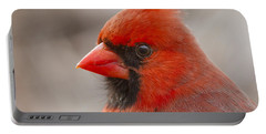 Mr Cardinal Portrait Portable Battery Charger