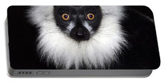 Portable Battery Charger featuring the photograph Mr Lemur by Terri Waters