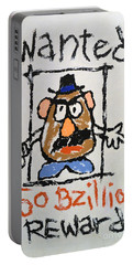 Portable Battery Charger featuring the photograph Mr. Potato Head Gone Bad by Robert Meanor