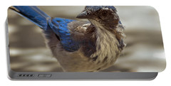 Mr. Scrub Jay Portable Battery Charger