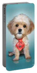 Mr. Toby Waffles The Cavapoo Portable Battery Charger