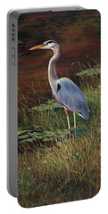 Mrs Blue Heron Portable Battery Charger
