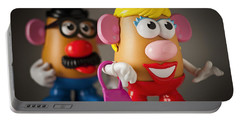 Mrs. Potato Head Portable Battery Charger