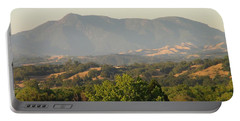 Portable Battery Charger featuring the photograph Mt. Cali by Shawn Marlow