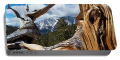 Mt. Charleston Thru A Tree Portable Battery Charger by Alan Socolik