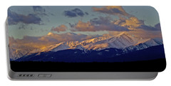 Mt Elbert Sunrise Portable Battery Charger by Jeremy Rhoades