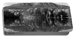 Mt Katahdin Black And White Portable Battery Charger