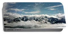 Portable Battery Charger featuring the photograph Mt Olympus by Greg Reed