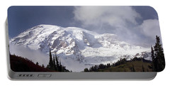 Portable Battery Charger featuring the photograph Mt Rainier  by Greg Reed