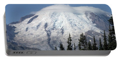 Mt. Rainier In August 2 Portable Battery Charger