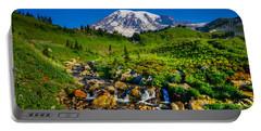Mt. Rainier Stream Portable Battery Charger