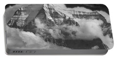 102496-mt. Robson Wreathed In Clouds Portable Battery Charger