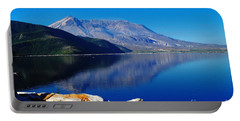 Mt St Helens Reflecting Into Spirit Lake   Portable Battery Charger
