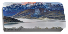 Mt. Timpanogos Winter Sunrise Portable Battery Charger