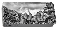 Portable Battery Charger featuring the photograph Mt. Whitney by Peggy Hughes