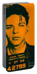 Mugshot Frank Sinatra V1 Portable Battery Charger