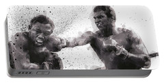 Muhammad Ali Vs Joe Frazier Portable Battery Charger