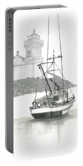 Mukilteo Lighthouse Portable Battery Charger by Terry Frederick