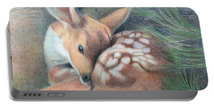 Mule Deer Fawn Portable Battery Charger