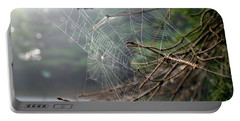 Multiple Webs - Near Portable Battery Charger by Kenny Glotfelty