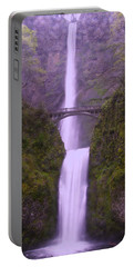Multnomah In The Drizzling Rain Portable Battery Charger