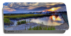 Murrells Inlet Sunset 4 Portable Battery Charger