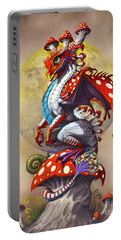 Mushroom Dragon Portable Battery Charger
