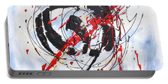 Musical Abstract 002 Portable Battery Charger