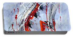 Musical Abstract 005 Portable Battery Charger