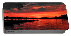 Muskoka Sunset Portable Battery Charger