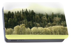 Portable Battery Charger featuring the photograph Muted Hillside Colors by Katie Wing Vigil