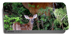 Portable Battery Charger featuring the photograph My Baby by Deena Stoddard