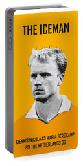My Bergkamp Soccer Legend Poster Portable Battery Charger