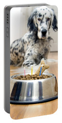 My Best Friend's Birthday Portable Battery Charger by Alexey Stiop