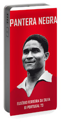 My Eusebio Soccer Legend Poster Portable Battery Charger