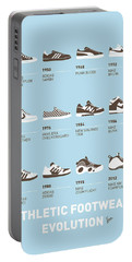My Evolution Sneaker Minimal Poster Portable Battery Charger