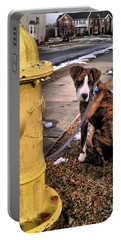 Portable Battery Charger featuring the photograph My Friend Plug by Robert McCubbin