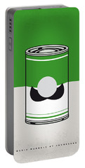 My Mario Warhols Minimal Can Poster-luigi Portable Battery Charger