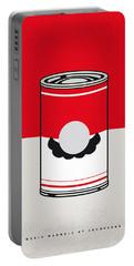 My Mario Warhols Minimal Can Poster-mario Portable Battery Charger