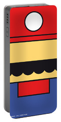 My Mariobros Fig 01 Minimal Poster Portable Battery Charger