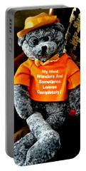 Portable Battery Charger featuring the photograph My Mind Wanders by Jay Milo