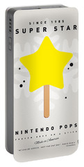 My Nintendo Ice Pop - Super Star Portable Battery Charger