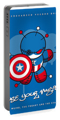 My Supercharged Voodoo Dolls Captain America Portable Battery Charger