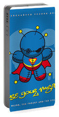 My Supercharged Voodoo Dolls Superman Portable Battery Charger