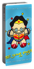 My Supercharged Voodoo Dolls Wonder Woman Portable Battery Charger