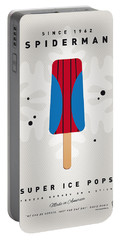 My Superhero Ice Pop - Spiderman Portable Battery Charger by Chungkong Art