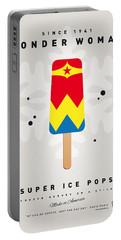 My Superhero Ice Pop - Wonder Woman Portable Battery Charger